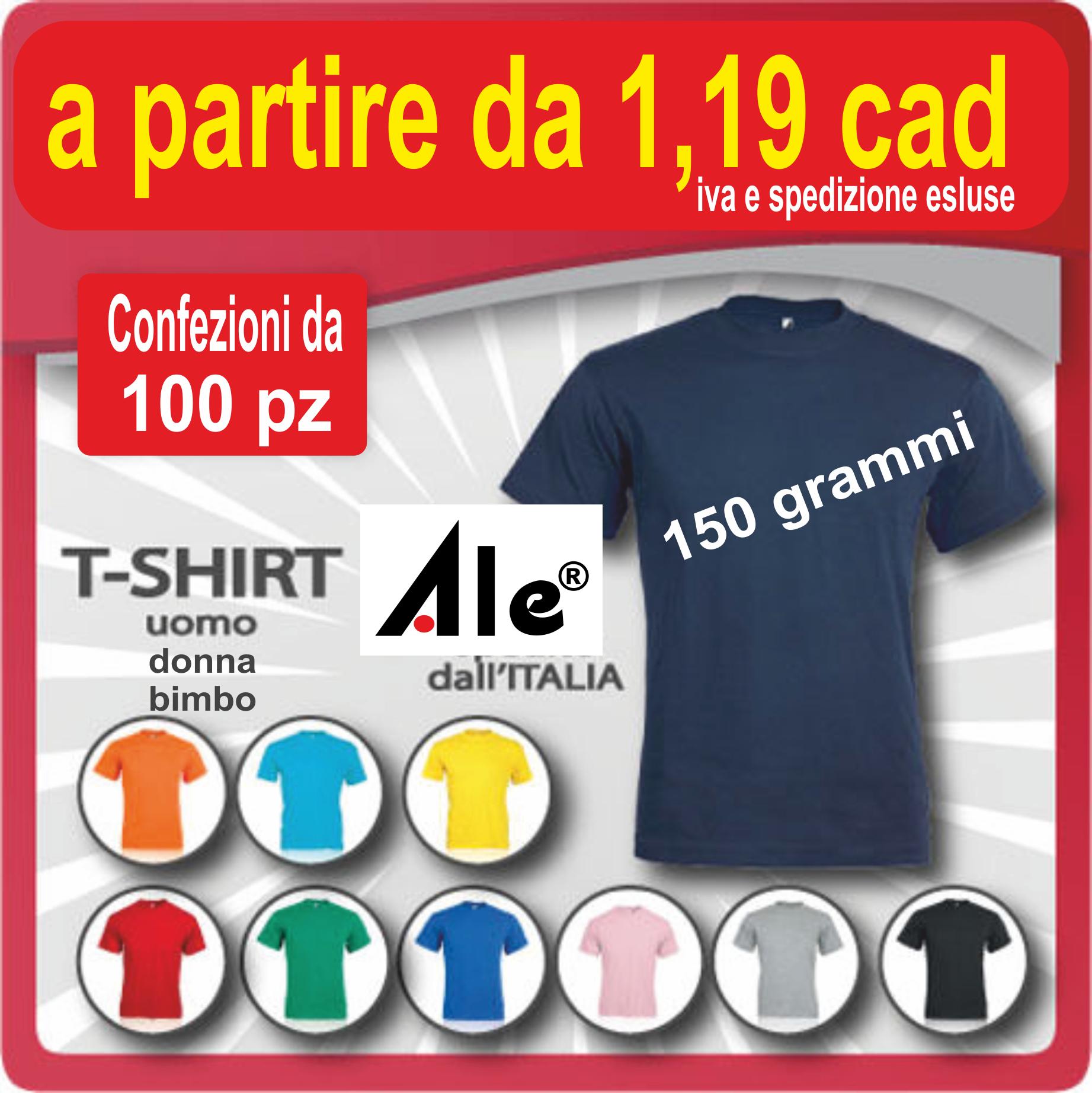 maglietta  da 1,19 euro