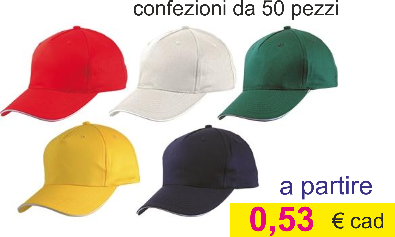 cappellini da 0,53 euro